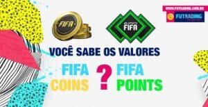 Você sabe se está pagando o um valor justo nos FIFA Points? Preparamos um texto explicando um pouco mais sobre isso