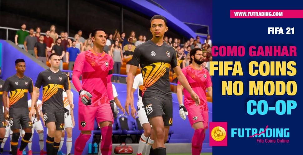 Você sabia que o modo Co-op pode impulsionar o seu ganho de FIFA coins? A gente explica como ganhar FIFA coins rapidamente!