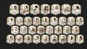 O que são as cartas lendárias FIFA 21?