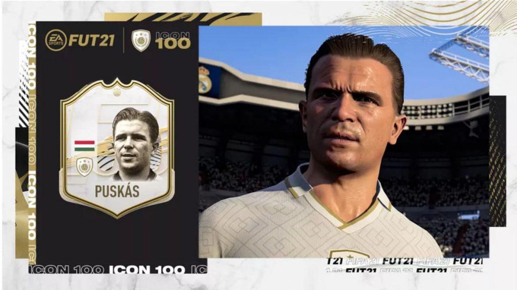 Novas cartas de ídolos do FIFA 21