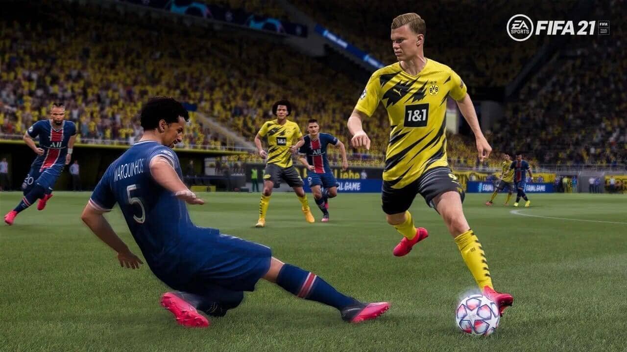 Como fazer a marcação no FIFA?