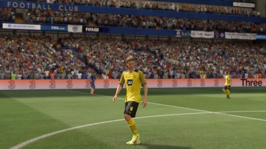 uniforme do Borussia Dortmund no FIFA