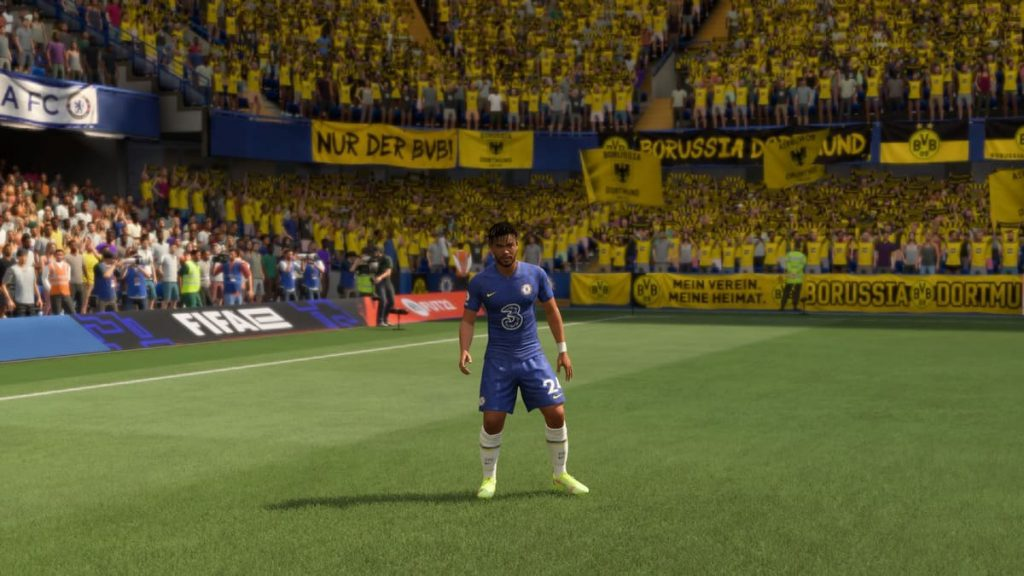 uniforme do Chelsea no FIFA